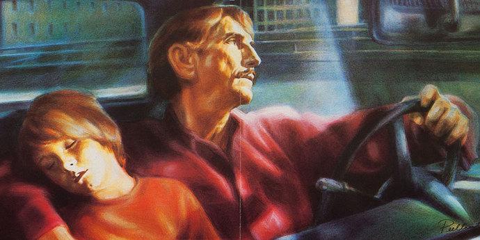 image of the Movie Poster of the Week: Wim Wenders by Guy Peellaert