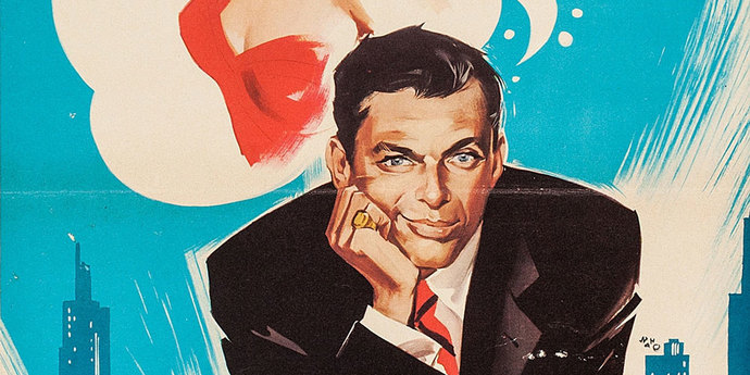 image of the Movie Poster of the Week: Frank Sinatra in Movie Posters