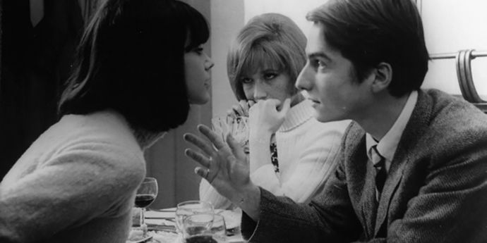 """image of the Scores On Screen. """"Masculin Féminin"""" Musique"""