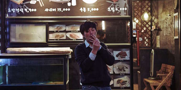 """image of the Once More, with Differences: Hong Sang-soo's """"Right Now, Wrong Then"""""""