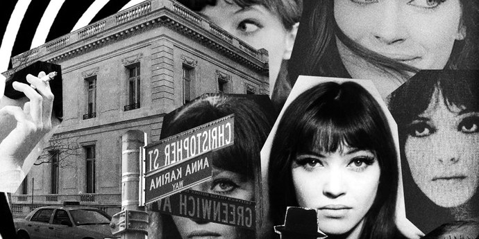 image of the Looking For (But Never Really Finding) Anna Karina in New York