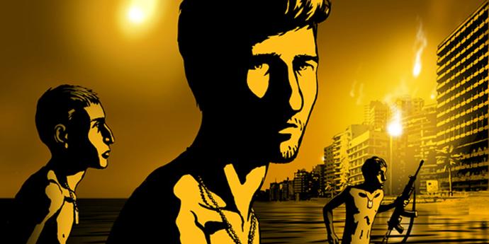 """image of the Cannes Film Festival, 2008: """"Waltz with Bashir"""" (Folman, Israel)"""