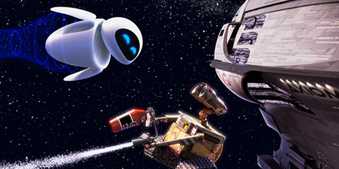"""image of the Review: """"Wall-E"""" (Stanton, USA)"""