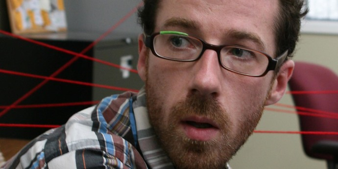 """image of the Daniel Cockburn Introduces His Film """"You Are Here"""""""