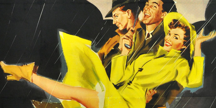 """image of the Movie Poster of the Week: """"Singin' in the Rain"""" and 2016 In Memoriam"""