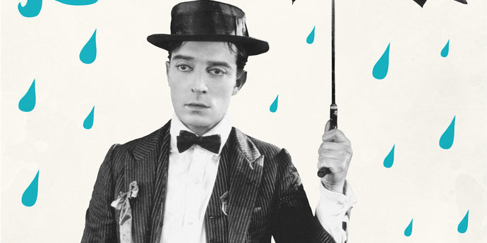 image of the Movie Poster of the Week: Buster Keaton and the Poster Art of Dylan Haley