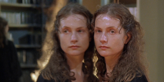 image of the Isabelle Huppert's Double Gaze