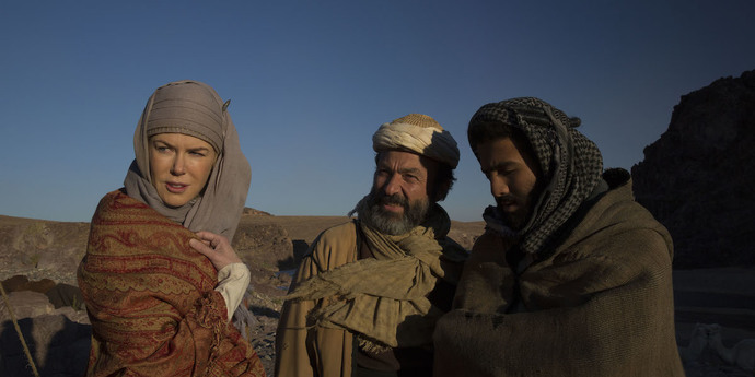 """image of the Review: An Auteur's First Heroine—Werner Herzog's """"Queen of the Desert"""""""