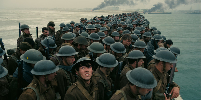 """image of the Review: Pressed for Time—Christopher Nolan's """"Dunkirk"""""""