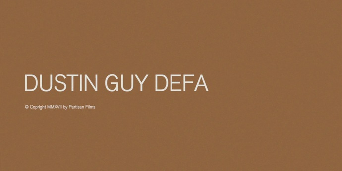 image of the Interview with Dustin Guy Defa