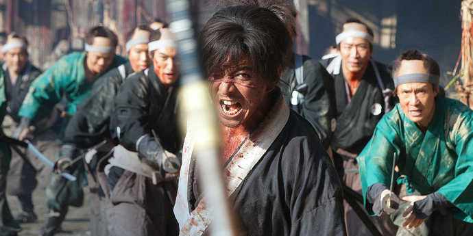 """image of the Review: Forever Killing—Takashi Miike's """"Blade of the Immortal"""""""