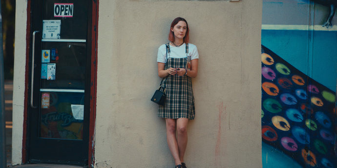 """image of the Review. """"Lady Bird""""—Greta Gerwig's Rite of Passage"""