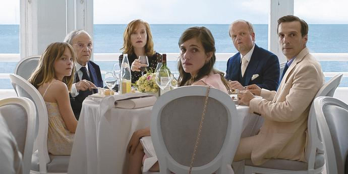 """image of the Review: Michael Haneke's """"Happy End"""""""
