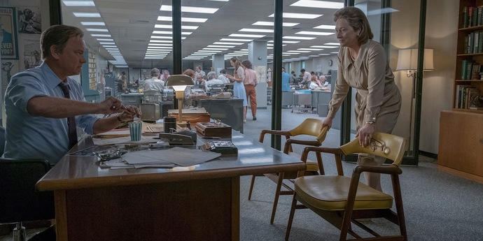 """image of the Review: Don't Worry About the Media—Steven Spielberg's """"The Post"""""""