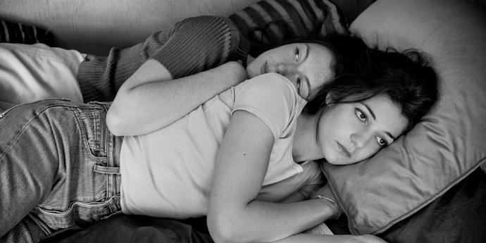 """image of the Three on a Couch: Close-Up on Philippe Garrel's """"Lover for a Day"""""""