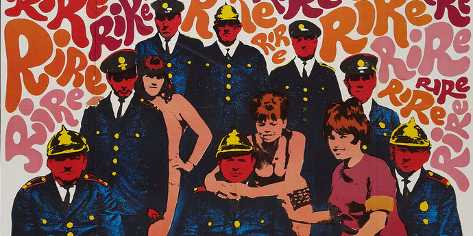 """image of the Movie Poster of the Week: Milos Forman's """"Loves of a Blonde"""" and """"The Firemen's Ball"""""""