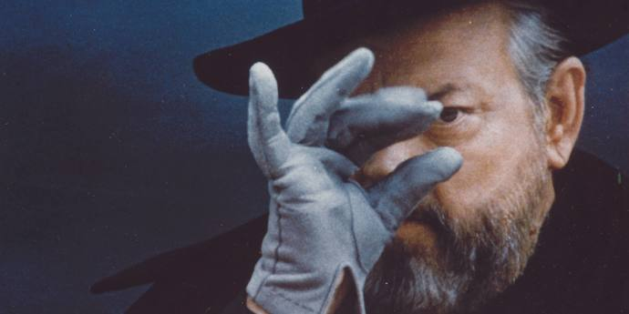 image of the Video Essay. Orson Welles: Who Is This Man?
