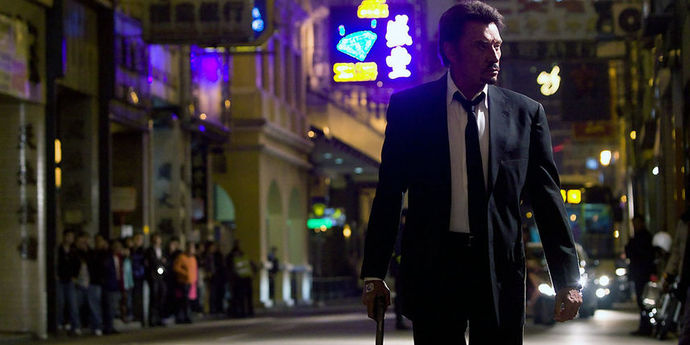 """image of the Close-Up on Johnnie To's """"Vengeance"""""""