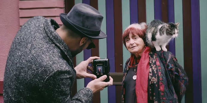 image of the The Memeification of Agnès Varda