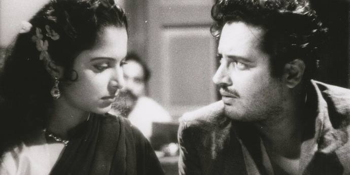 image of the Tragic Spaces: The Later Films of Guru Dutt