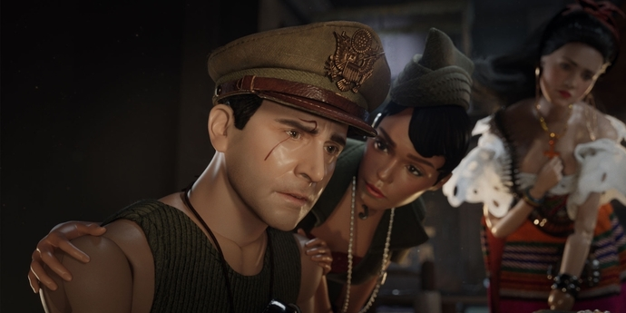 """image of the Review: Imitation of Life—Robert Zemeckis' """"Welcome to Marwen"""""""