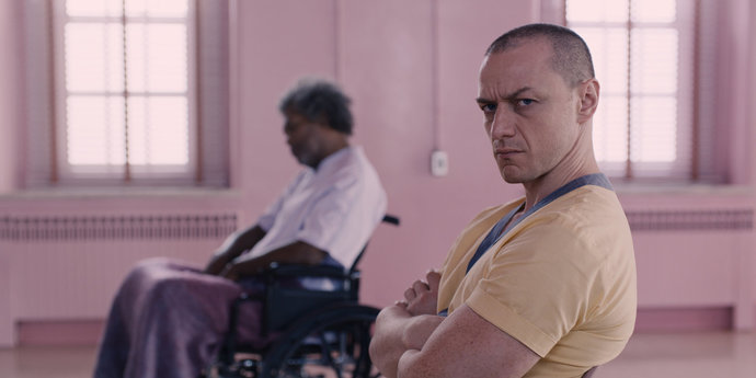 """image of the Review: Three Characters in Search of an Author—M. Night Shyamalan's """"Glass"""""""