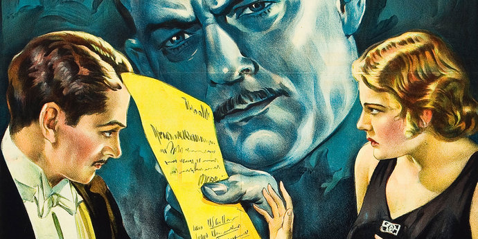 image of the Movie Poster of the Week: More Restorations and Rediscoveries from the Fox Film Corporation