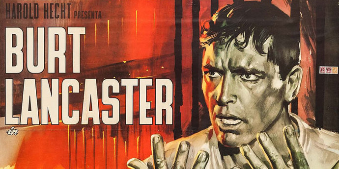 image of the Movie Poster of the Week: Burt Lancaster in Posters