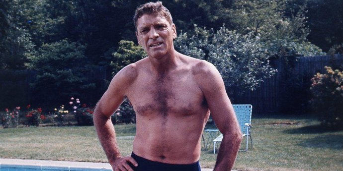 """image of the Body Politics: Burt Lancaster and """"The Swimmer"""""""