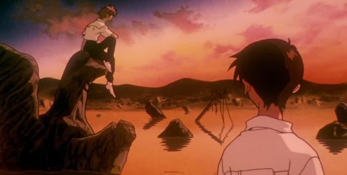 """image of the """"Neon Genesis Evangelion,"""" Episodes 23–24: Knocking on Heaven's Door"""