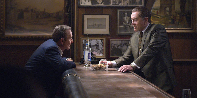 """image of the Review: """"The Irishman"""" is Martin Scorsese's Moral Reckoning"""