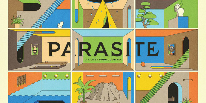 """image of the Movie Poster of the Week: The Posters of """"Parasite"""""""