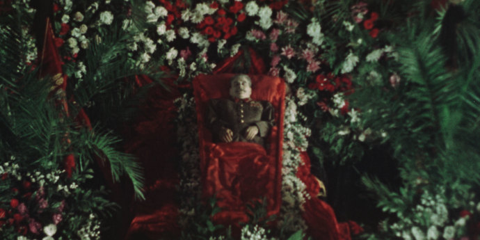 """image of the On Body and Soul: Sergei Loznitsa Discusses """"State Funeral"""""""