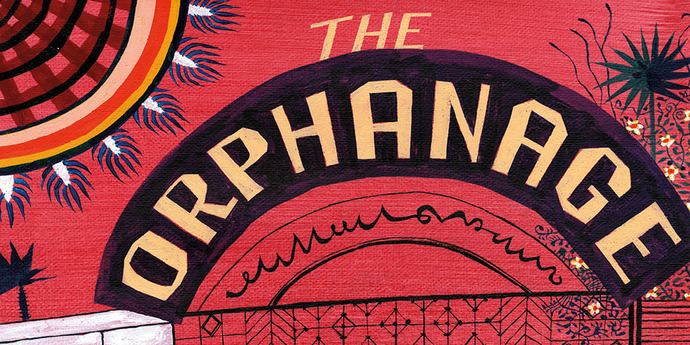 """image of the MUBI Poster of the Month: Jeffrey Fisher x """"The Orphanage"""""""