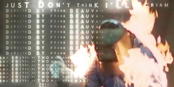 """image of the MUBI Poster of the Month: Paul Sahre x """"Just Don't Think I'll Scream"""""""