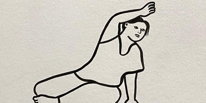 """image of the MUBI Poster of the Month: Rachel Levit Ruiz x """"Isadora's Children"""""""
