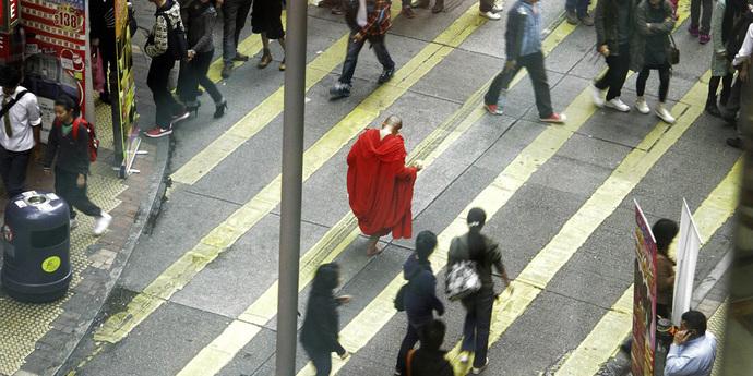 image of the Walking with Tsai Ming-liang and Lee Kang-sheng