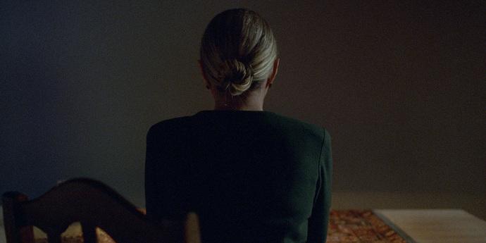 "image of the Dea Kulumbegashvili Introduces Her Film ""Beginning"""